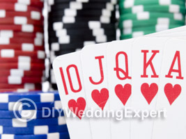 casino wedding decoration ideas